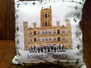 downton abbey pillow